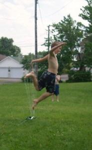 Sprinkler Jump Josiah
