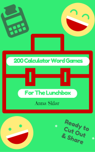 Calculator Word Games Book Cover