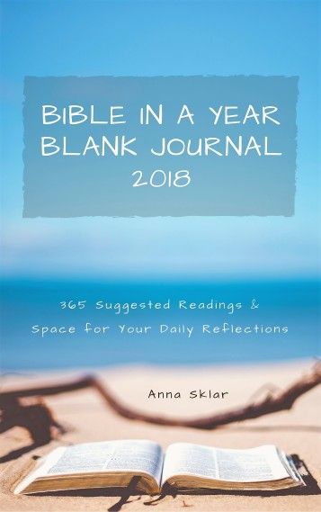 2018 Bible in a Year - Blank Journal